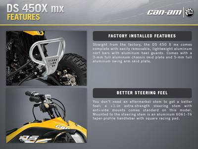 2015 Can-Am® DS 450™ X® mx Base | Power Motorsports